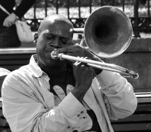 history of jazz music - trombone